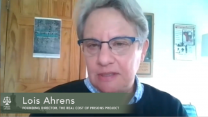 Justice in the Balance | Lois Ahrens: Real Cost of Prisons Project