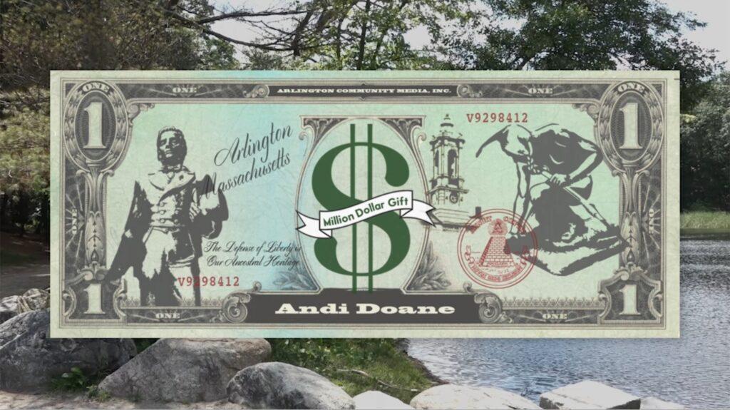 Million Dollar Gift | Andi Doane, Arlington EATS