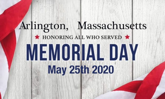 Memorial Day Arlington MA May 25th 2020