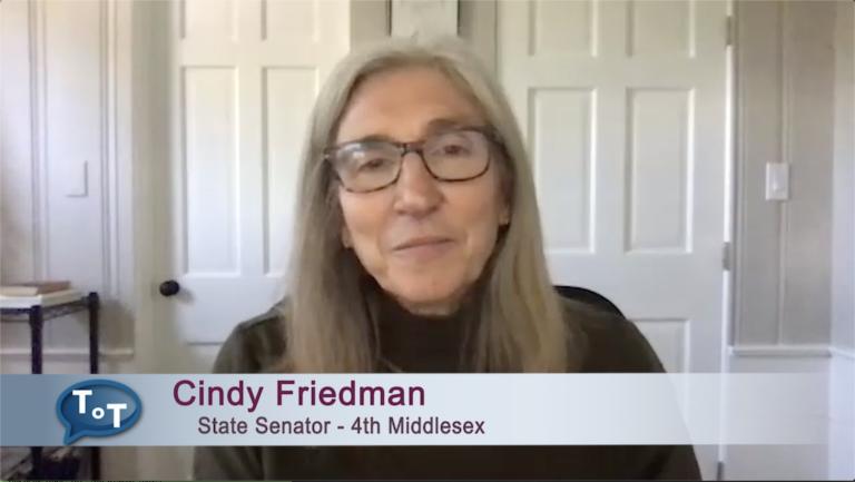 Talk of the Town   Cindy Friedman Legislative Update May 2020