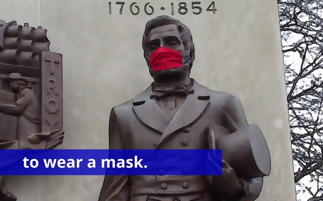 Wear a mask says Uncle Sam