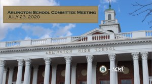 School Committee Meeting – July 23, 2020