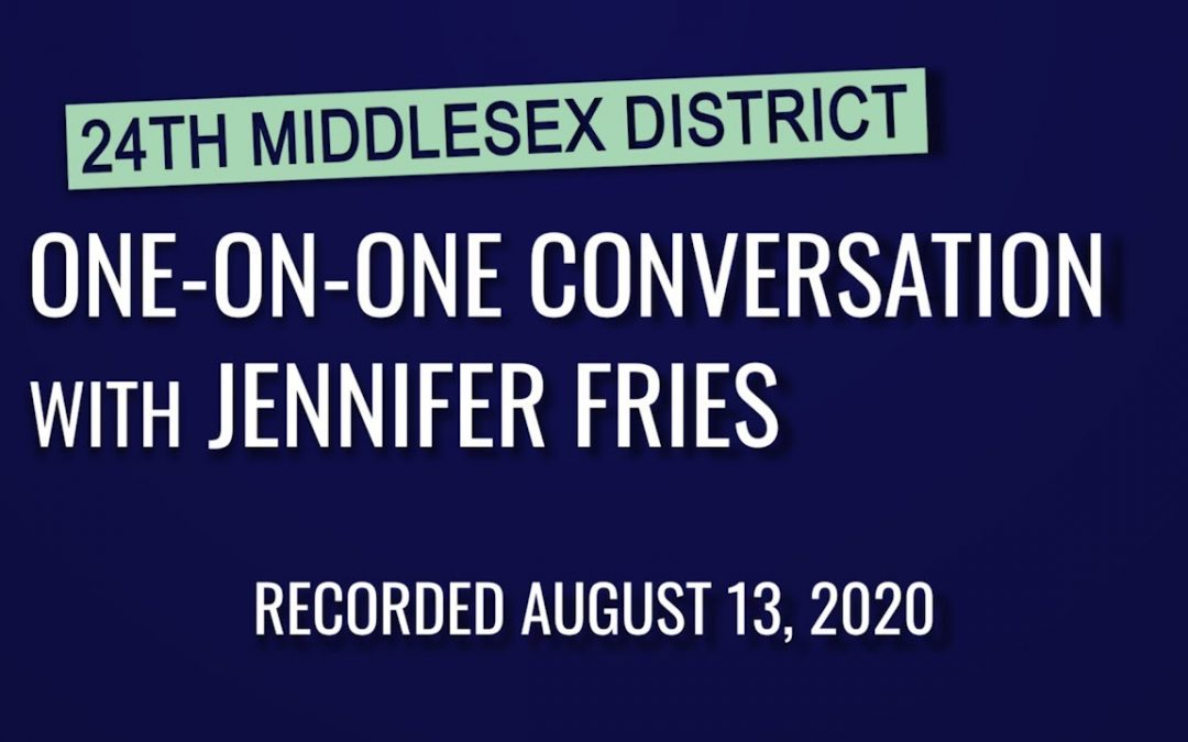 State Representative One on One – Jennifer Fries