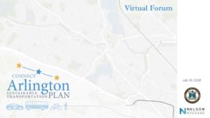 Connect Arlington Virtual Forum – July 30, 2020