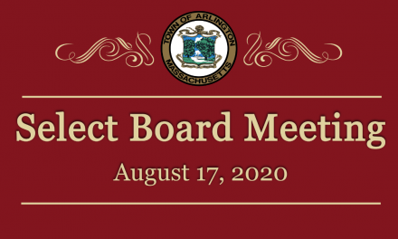 Select Board Meeting – August 17, 2020