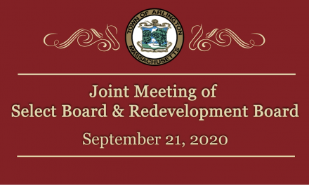 Joint Meeting of Select Board & Redevelopment Board – September 21, 2020