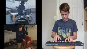 Arlington High School Jazz Band  performs Chameleon