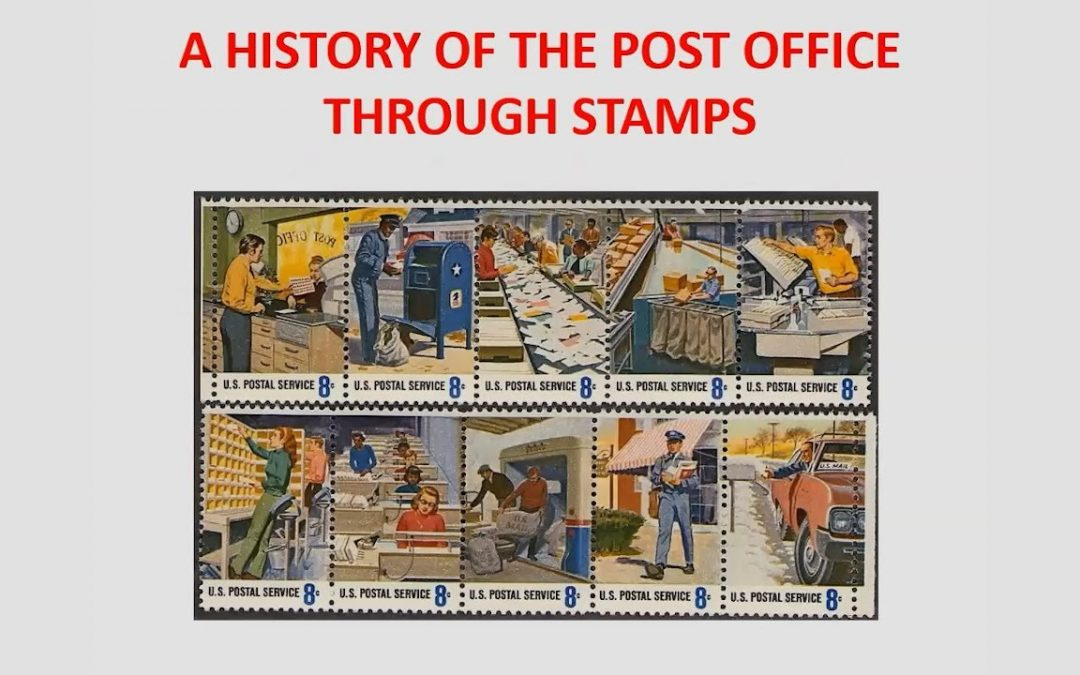 Pushing the Envelope: A History of the Post Office Through Stamps