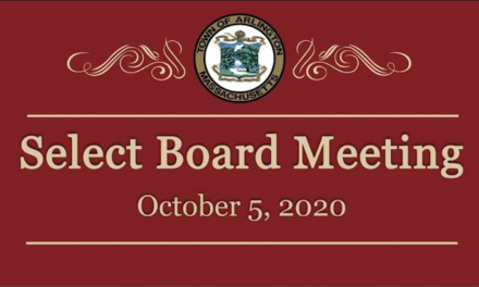 Select Board Meeting – October 5, 2020