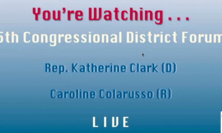 5th District Congressional Candidate Forum: Caroline Colarusso & Rep. Katherine Clark
