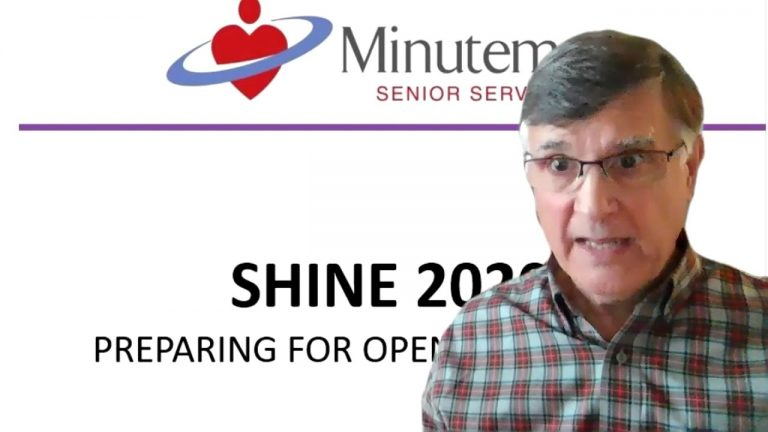 Shine 2020 Medicare Presentation for Seniors