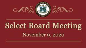 Select Board Meeting – November 9, 2020