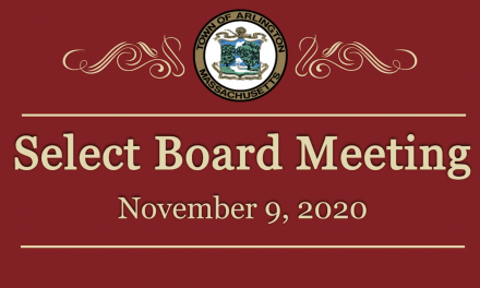 Select Board Meeting – November 9, 2020