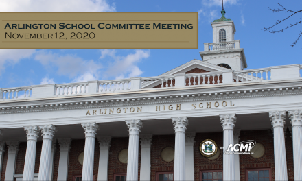 School Committee Meeting – November 12, 2020