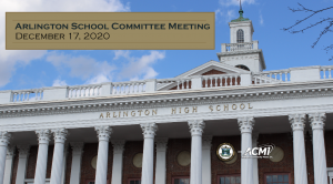 School Committee Meeting – December 17, 2020