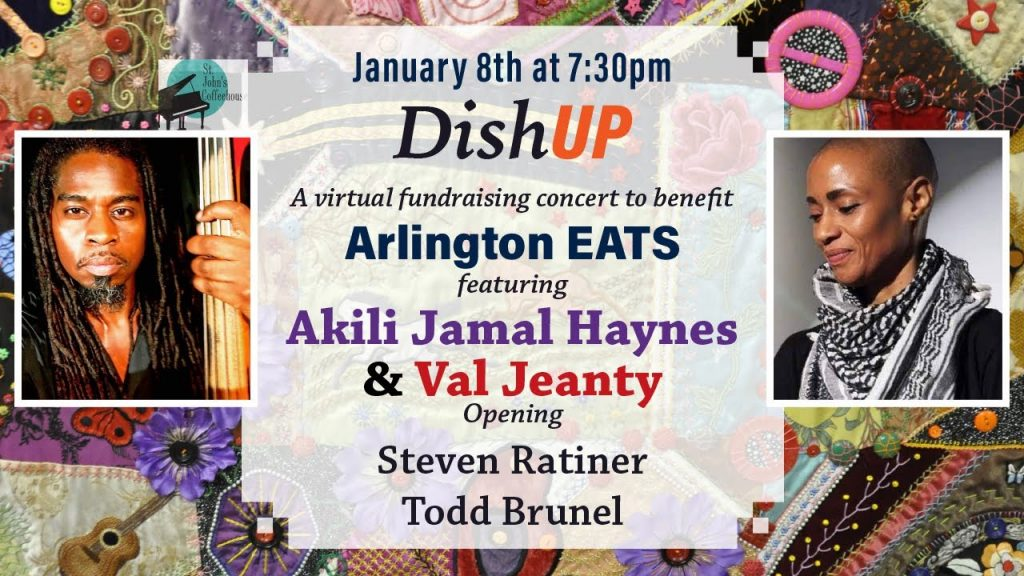 DishUP! Concert for Arlington EATS & Musicians' Relief Fund