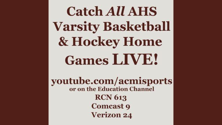 Arlington High School Boys Varsity Basketball vs Lexington – January 18th, 2021