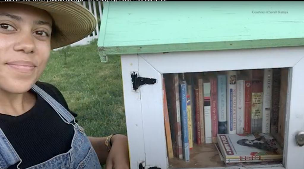 Talk of the Town | Sarah Kamya – Diversifying Little Free Libraries