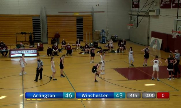 Arlington High School Girls Varsity Basketball  vs. Winchester – January 30, 2021