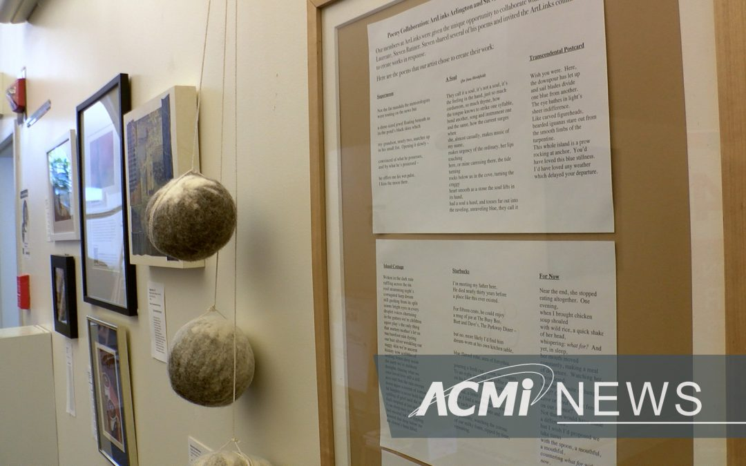 Poetry Collaboration Exhibit at the ACA