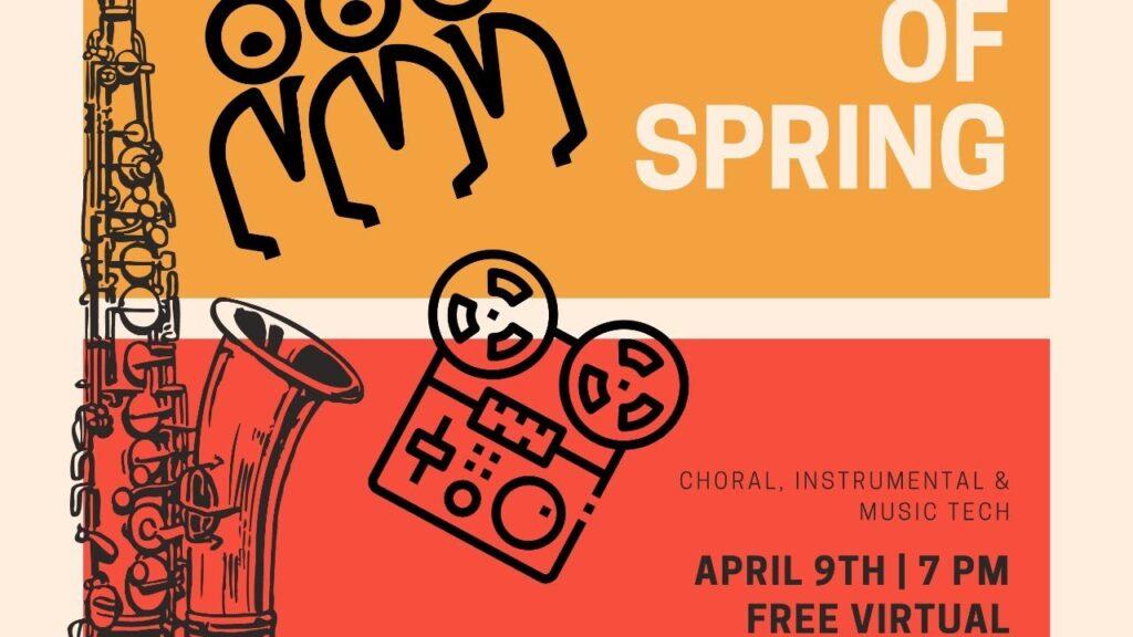 Sounds of Spring | Arlington Performing Arts Department Virtual Concert | April 29, 2021