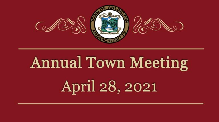 Town Meeting – April 28, 2021