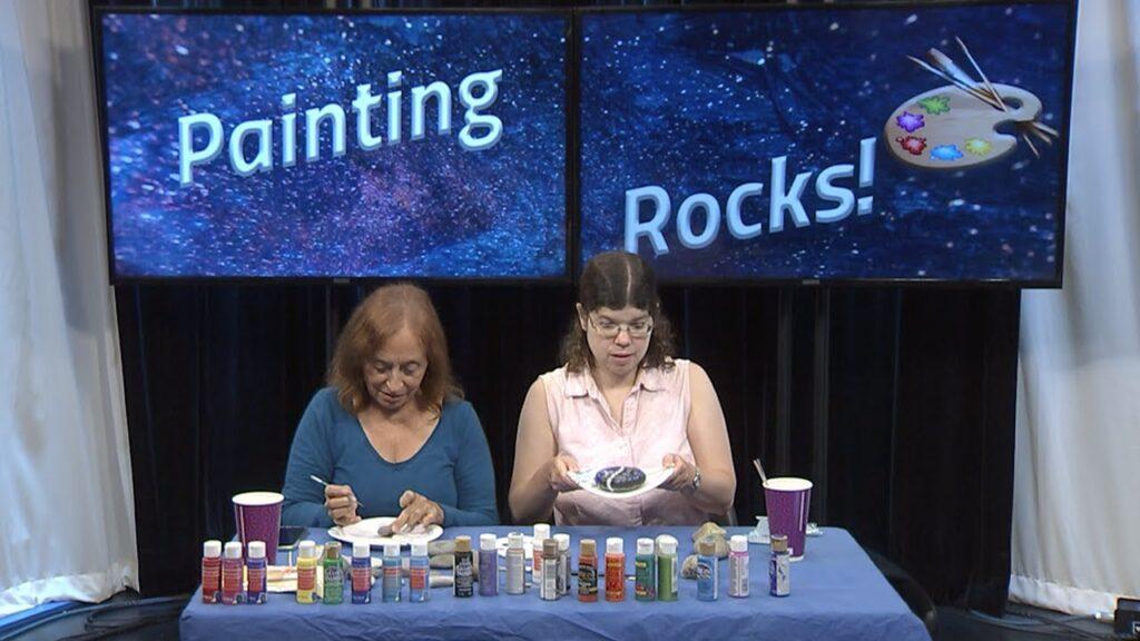 Studio Knights: Painting Rocks