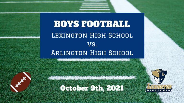 LHS Varsity Football vs Arlington (October 9th, 2021)