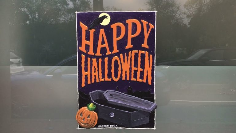 Halloween Window Paintings