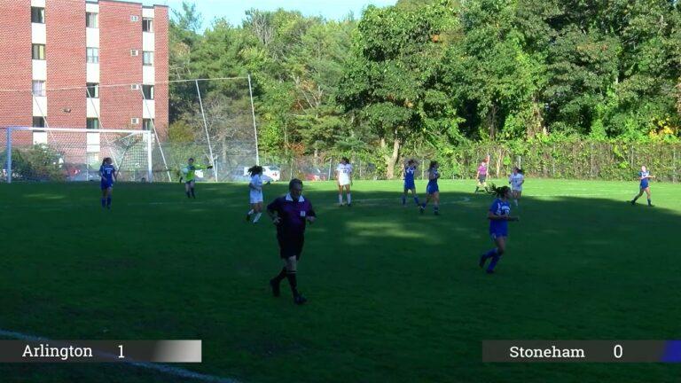 Arlington High School Girls Soccer vs Stoneham | October 13, 2021